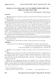 Đánh giá tác dụng phụ của cycloferon trong điều trị viêm gan virut mạn tính