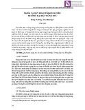 Mạng và quy hoạch mạng nội bộ trường Đại học Hồng Đức