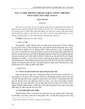 Dạy và học phương trình vi phân với sự trợ giúp phần mềm toán học Maple