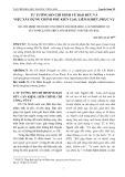 Tư tưởng Hồ Chí Minh về đạo đức và việc xây dựng chính phủ kiến tạo, liêm khiết, phục vụ