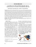 Cách tiếp cận đa tiêu chí trong phân bổ, chia sẻ nguồn nước lưu vực sông Vu Gia Thu Bồn, Việt Nam