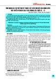 Ứng dụng bài tập bổ trợ kỹ thuật cắt kéo cho nữ vận động viên đội tuyển Pencak Silat Hải Phòng lứa tuổi 15-17