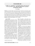 Nghiên cứu, mô phỏng vận hành hệ thống liên hồ chứa lưu vực sông Vu Gia - Thu Bồn trong mùa cạn bằng mô hình HEC - RESSIM