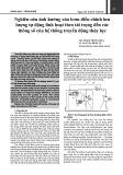 Nghiên cứu ảnh hưởng của bơm điều chỉnh lưu lượng tự động linh hoạt theo tải trọng đến các thông số của hệ thống truyền động thủy lực