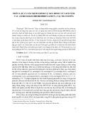 Phân lập và xác định trình tự gen RpoC1 từ loài Sâm cau (Curculigo orchioides gaertn.) tại Thanh Hóa