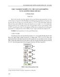 Thực nghiệm nghiên cứu chế tạo gạch không nung geopolymer tro bay