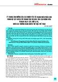 Tỷ trọng ảnh hưởng của các nhóm yếu tố thành phần phản ánh trình độ tập luyện tới thành tích thi đấu của vận động viên Pencak Silat lứa tuổi 12-15, khối các trường năng khiếu thể dục thể thao