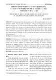 Phương pháp nghiên cứu trừu tượng hóa và sự vận dụng phương pháp này của C. Mác trong bộ Tư bản luận