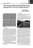 Một số nguyên nhân hư hỏng mặt đường bê tông nhựa phổ biến ở Nam Bộ và hướng giải quyết
