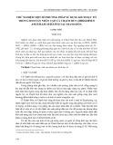 Thử nghiệm một số phương pháp sử dụng kích dục tố trong sinh sản nhân tạo cá chạch bùn (Misgurnus anguillicaudatus) tại Thanh Hóa