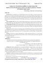 Khảo sát tình hình nhiễm gnathostoma spp trên gan lươn (monopterus albus) tại chợ N. quận 10, TP.HCM từ tháng 3/2010‐2/2011