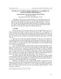 Nguồn lực và thực trạng sinh kế của lao động nữ vùng ven biển tỉnh Nghệ An