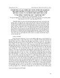 Ảnh hưởng của sự thiếu hụt nước ở một số giai đoạn đến sinh trưởng và năng suất của 2 giống vừng đen Bắc Giang và V36 trong điều kiện nhà lưới