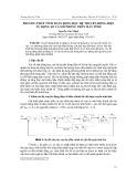 Phương pháp tính toán động học hệ truyền động điện tự động số và mô phỏng trên máy tính