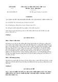 Nghị định số 160/2018/NĐ-CP Quy định chi tiết thi hành một số điều của Luật phòng, chống thiên tai
