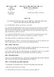 Thông tư số 34/2018/TT-BVHTTDL
