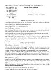 Thông tư liên tịch số 050/2018/TTLT-VKSNDTC-TANDTC-BCA-BQP