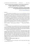 Khảo sát hàm lượng polyphenol, saponin, hoạt tính kháng oxy hóa và kháng khuẩn từ cao chiết bẹ và củ rễ cây môn ngứa (colocasia esculenta)