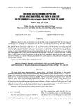Ảnh hưởng của mật độ trồng và phân bón đến khả năng sinh trưởng, phát triển và năng suất của cây kim ngân (Lonicera japonica Thunb.) tại Thanh Trì – Hà Nội