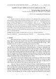 Nghiên cứu quy trình sản xuất sữa khoai lang tím