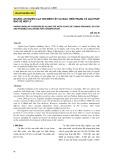 Nguồn lợi Nghêu Lụa ven biển Tây Cà Mau, hiện trạng và giải pháp bảo vệ hợp lý