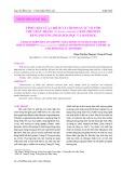 Tính chất của chitin và chitosan từ vỏ tôm thẻ chân trắng (Penaeus vannamei) khử protein bằng phương pháp hóa học và sinh học