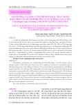 Ảnh hưởng của hàm lượng protein khác nhau trong khẩu phần ăn lên sinh trưởng và tỷ lệ sống của cá nâu (Scatophagus argus Linnaeus, 1766) nuôi tại Thừa Thiên Huế