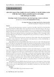 Chuyển giao công nghệ sản xuất giống và nuôi thâm canh tôm he chân trắng (Litopenaeus vannamei) cho tỉnh Quảng Bình