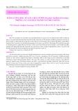 Hàm lượng độc tố gây liệt cơ PSP (Paralytic Shellfish Poisoning) trong các loài hai mảnh vỏ ở Nha Trang