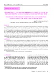 Sinh trưởng và sản sinh bacteriocin của vi khuẩn lactic T13 trên môi trường nuôi cấy và trên cá giò nguyên liệu tươi