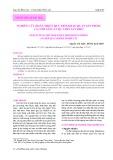 Nghiên cứu hoàn thiện quy trình bảo quản sản phẩm cá cơm săng luộc chín sấy khô