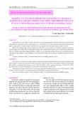 Nghiên cứu ứng dụng protease ngoại bào của Bacillus subtilis B26 cho quá trình tách chiết chondroitin sulfate từ sụn cá đuối (Dasyatis kuhlii ) và cá nhám (Carcharhinus sorrah )