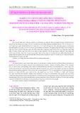 Nghiên cứu chuyển đổi giới tính cá rô đồng Anabas testudineus (Bloch, 1972) bằng phương pháp ngâm hormone Diethylstilbestrol tại trại thực nghiệm Ninh Phụng