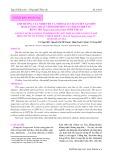 Ảnh hưởng của nhiệt độ và thời gian chần tiền sấy đến hàm lượng, hoạt tính sinh học của dịch chiết từ rong mơ Sargassum polycystum Ninh Thuận