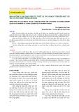 Ảnh hưởng của xung điện từ thiết bị thu hoạch tôm đến một số yếu tố hữu sinh trong ao nuôi
