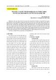 Tích hợp lý thuyết TPB để nghiên cứu sự trung thành đối với các sản phẩm cá: Vai trò của sự quan tâm