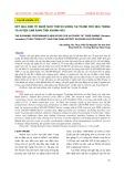 Kết quả kinh tế nghề nuôi tôm sú giống tại thành phố Nha Trang và huyện Cam Ranh tỉnh Khánh Hòa