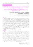 Nghiên cứu quy trình công nghệ sản xuất surimi từ cá mè hoa (Hypophthalmichthys nobilis)