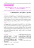 Tình hình nhiễm vi khuẩn Listeria monocytogenes trên rau xà lách ở Nha Trang