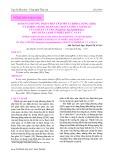 Áp dụng phương pháp phân tích mô tả định lượng (QDA) và Torry trong đánh giá chất lượng cảm quan của fillet cá tra (Pangasius hypophthalmus) bảo quản lạnh ở nhiệt độ 1ºc và 4ºc