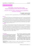 Tách chiết collagen từ da cá tra (Pangasius hypophthalmus) bằng phương pháp hóa học