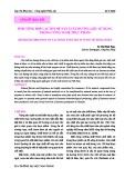 Sinh tổng hợp lacton để sản xuất hương liệu sử dụng trong công nghệ thực phẩm