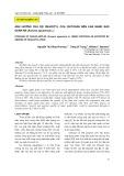 Ảnh hưởng của độ deacetyl của chitosan đến khả năng bảo quản Na (Annona squamosa L.)