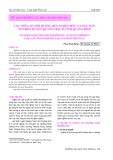 Các nhân tố ảnh hưởng đến nghèo đói của ngư dân ven biển huyện Quảng Trạch, tỉnh Quảng Bình
