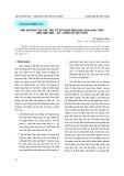 Ảnh hưởng của các yếu tố sử dụng đến hiệu quả khai thác liên hợp máy - vỏ - chân vịt tàu thủy