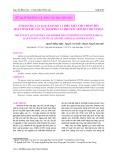 Ảnh hưởng của loại enzyme và điều kiện thủy phân đến hoạt tính khử gốc tự do DPPH của protein artemia thủy phân