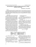Tình hình nhiễm độc tố nấm (Aflatoxin B1, Ochratoxin A, Citrinin) trên gạo tại Nha Trang