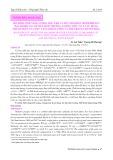 Mô hình sinh năng lượng học cho cá mú chấm đen (Epinephelus malabaricus): Dự báo sinh trưởng, lượng thức ăn cá sử dụng, thành phần của mức tăng khối lượng và thể trọng chuyển hóa