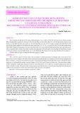 Đánh giá nguy cơ của người tiêu dùng đối với thuốc trừ sâu lindan do tiêu thụ động vật thân mềm và giáp xác ở Nha Trang