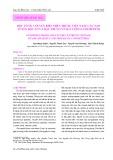 Độc tố ốc cối ven biển miền Trung Việt Nam: Cấu tạo tuyến độc tố và đặc trưng về số lượng conopeptid